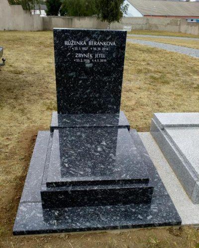 urnový hrob - pomník